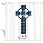 Cross - Campbell of Loudoun Shower Curtain