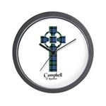Cross - Campbell of Loudoun Wall Clock