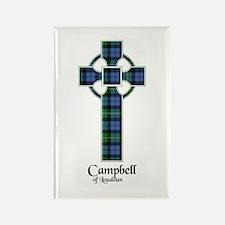 Cross - Campbell of Loudoun Rectangle Magnet