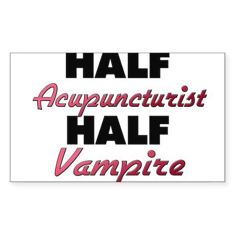 Half Acupuncturist Half Vampire Sticker