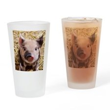 sweet piglet Drinking Glass