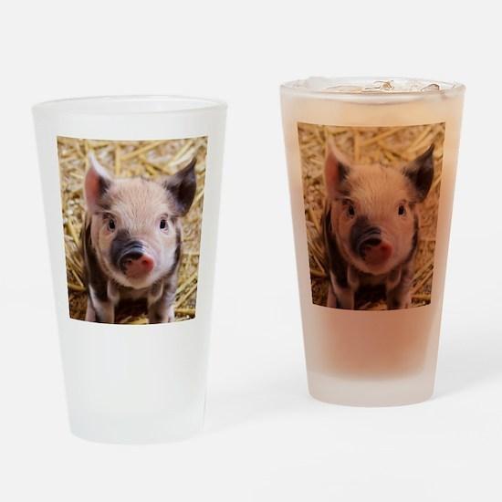 sweet piglet Drinking Glass