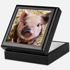 sweet piglet Keepsake Box