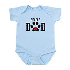 Beagle Dad Body Suit