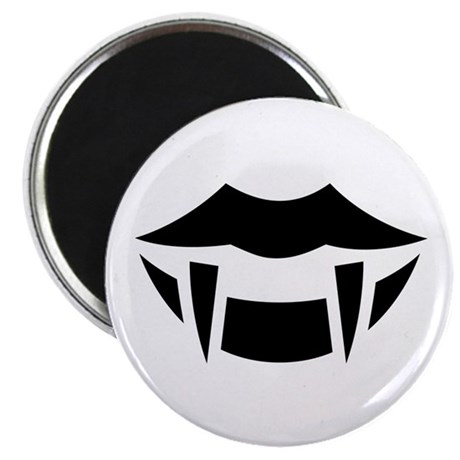 Halloween fangs ideology 2 25 quot magnet 100 pack by ideologythreads