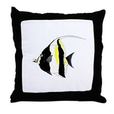 Moorish Idol Throw Pillow