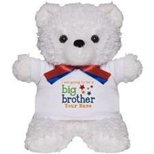 I am going to be a Big Brother Personalized Teddy