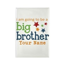I am going to be a Big Brother Personalized Rectan