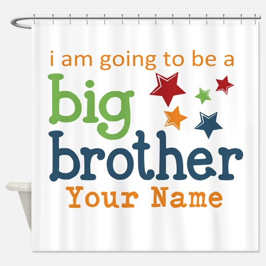 I am going to be a Big Brother Personalized Shower