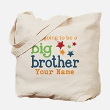 I am going to be a Big Brother Personalized Tote B