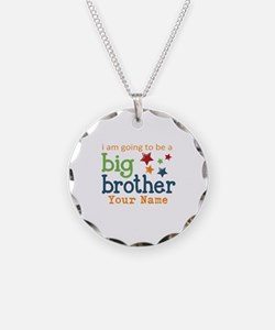 I am going to be a Big Brother Personalized Neckla