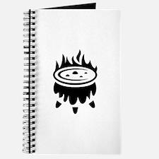 Halloween Witch Cauldron Ideology Journal