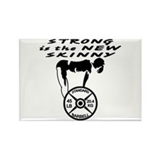 Strong The New Skinny Rectangle Magnet