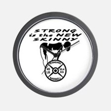 Strong The New Skinny Wall Clock