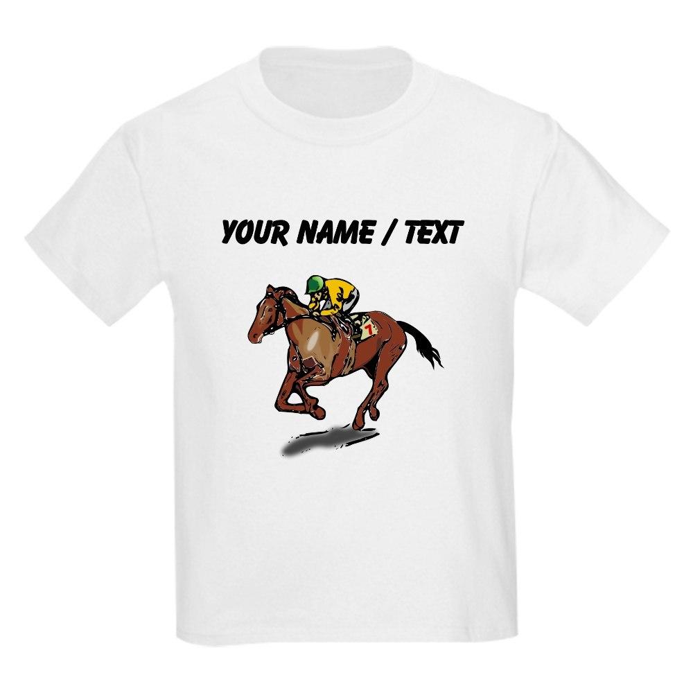 CafePress Custom Race Horse T-Shirt