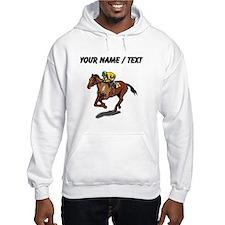 Custom Race Horse Hoodie