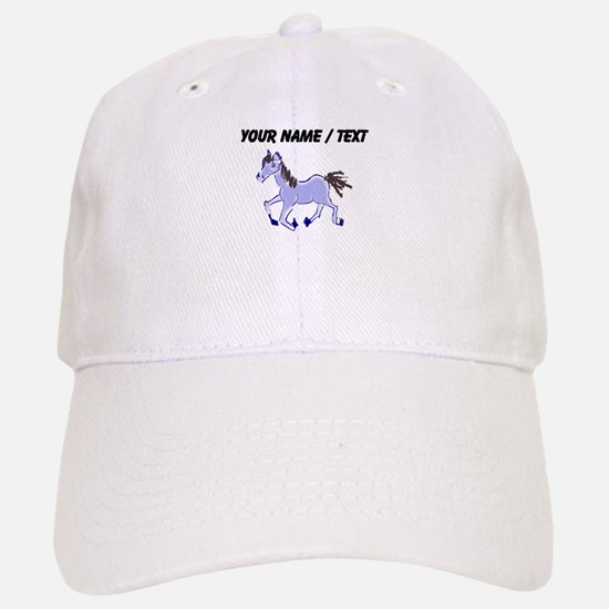 Custom Purple Pony Baseball Baseball Baseball Cap