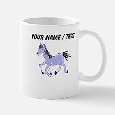 Custom Purple Pony Mugs