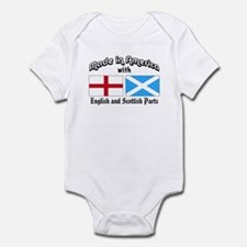 English-Scottish Infant Bodysuit