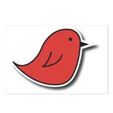 Vox Red Bird Postcards (Package of 8)