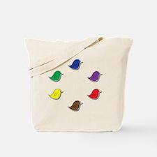 Vox Birds Color Wheel Tote Bag