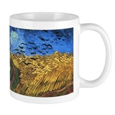 Van Gogh - Wheatfields with Crows Small Mugs