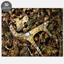 camouflage deer antler Puzzle