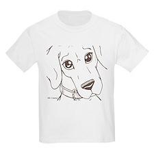 N Closeup Sadeyes Kids T-Shirt