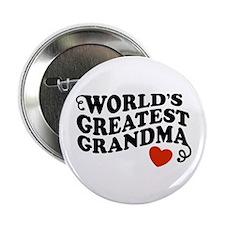 World's Greatest Grandma Button