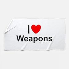 Weapons Beach Towel