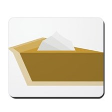 Pumpkin Pie with Whipped Cream Mousepad