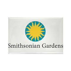Smithsonian Gardens Rectangle Magnet