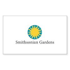 Smithsonian Gardens Sticker (Rectangle)