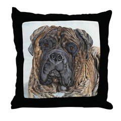 Boris Throw Pillow