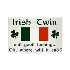 Irish Twin-Good Looking Rectangle Magnet