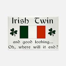 Irish Twin-Good Looking Rectangle Magnet