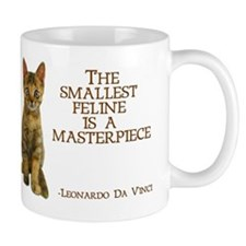 The smallest feline is a masterpiece Mug