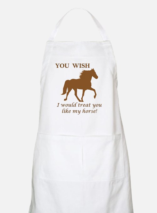 You WISH BBQ Apron