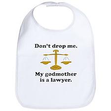 My Godmother Is A Lawyer Bib