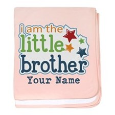 Little Brother - Personalized baby blanket