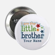 """Little Brother - Personalized 2.25"""" Button"""