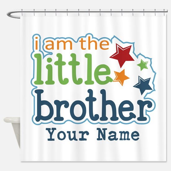 Little Brother - Personalized Shower Curtain