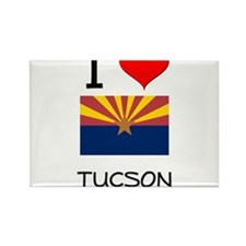 I Love Tucson Arizona Magnets