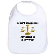 My Aunt Is A Lawyer Bib