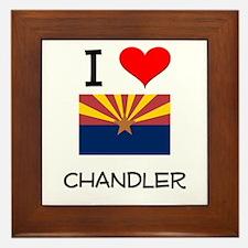 I Love Chandler Arizona Framed Tile