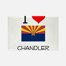 I Love Chandler Arizona Magnets