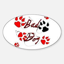 CJs Bad Dog Decal