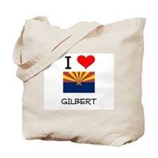 I Love Gilbert Arizona Tote Bag