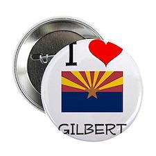 """I Love Gilbert Arizona 2.25"""" Button"""