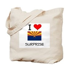 I Love Surprise Arizona Tote Bag